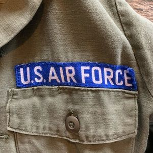 Vintage USA Air Force utility jacket